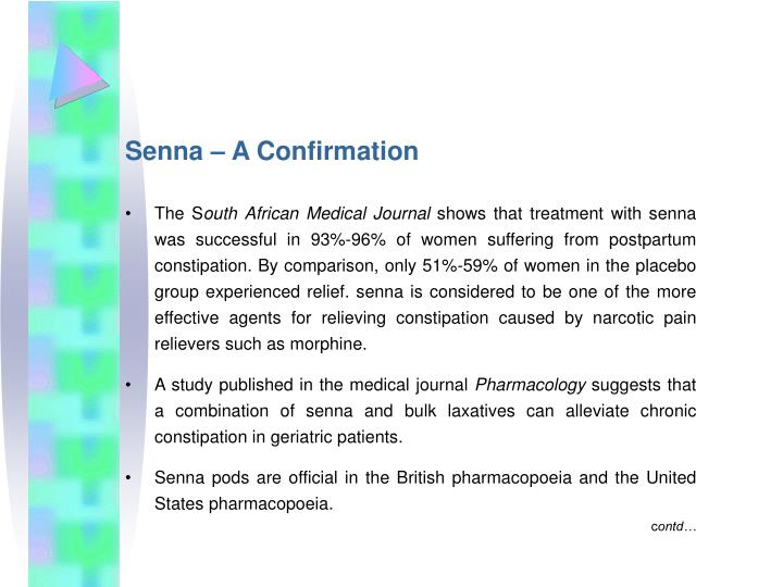 Senna – A Confirmation
