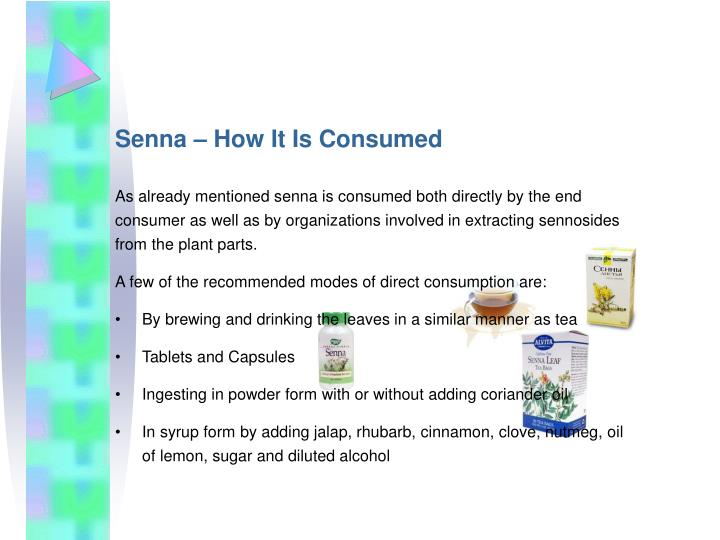 Senna – How It Is Consumed