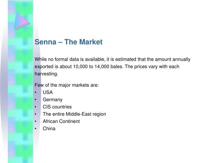 Senna – The Market