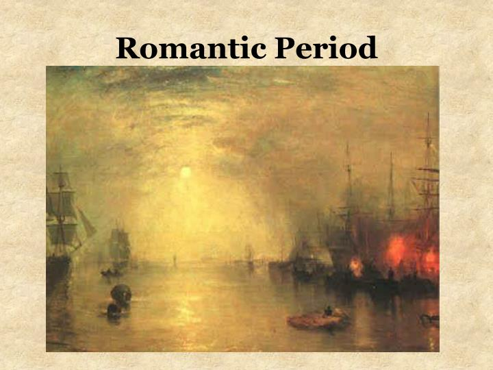 romantic period art essay This free english literature essay on romanticism is perfect for english literature students to use as an example.