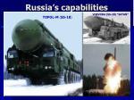 russia s capabilities