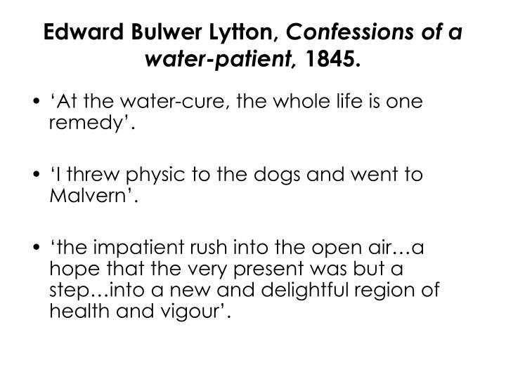Edward Bulwer Lytton,