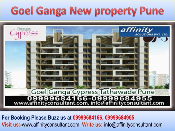 Goel Ganga New property Pune