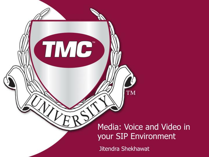 media voice and video in your sip environment n.