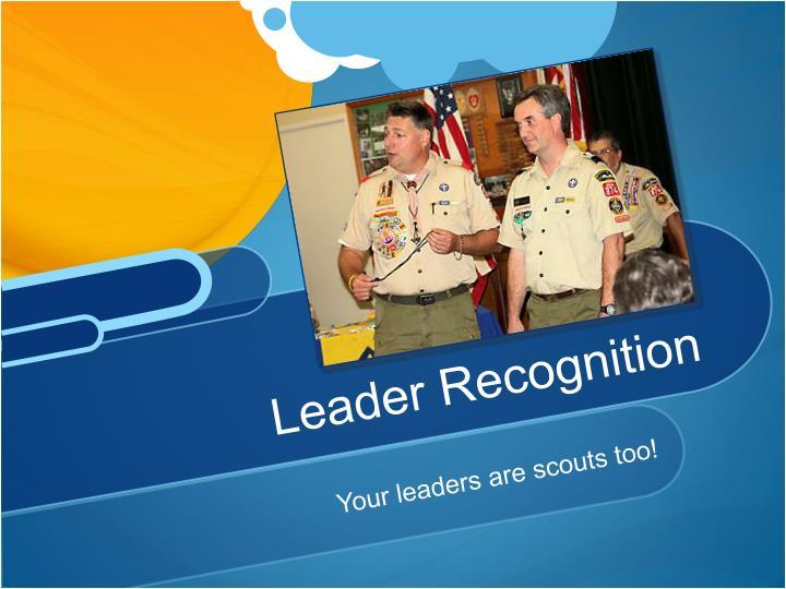 Leader Recognition