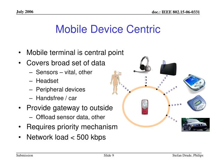 Mobile Device Centric