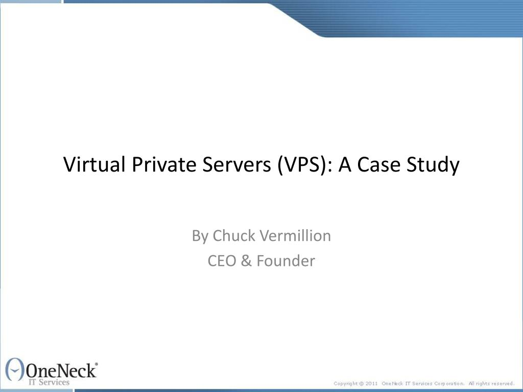 virtual private servers vps a case study l.