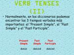 verb tenses ii