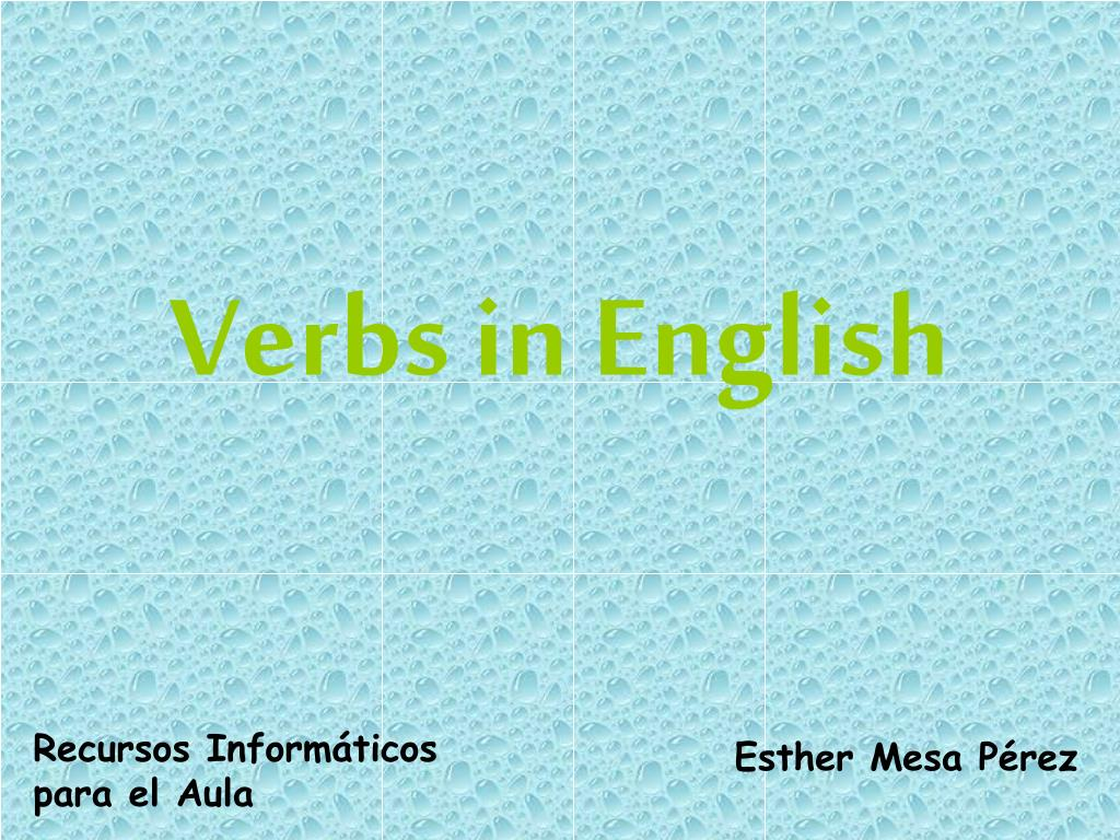 verbs in english l.