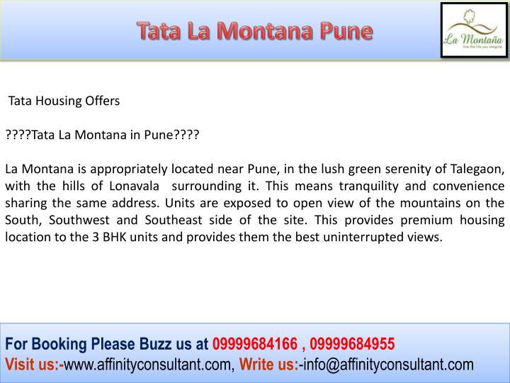 Tata La Montana Pune