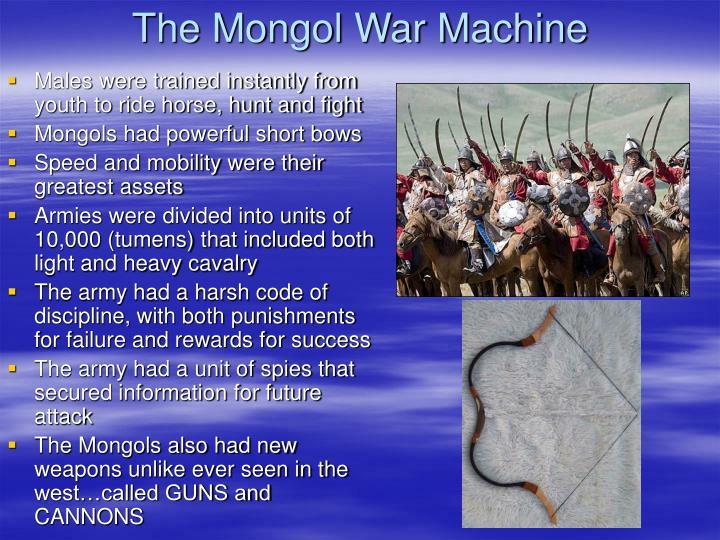 The Mongol War Machine
