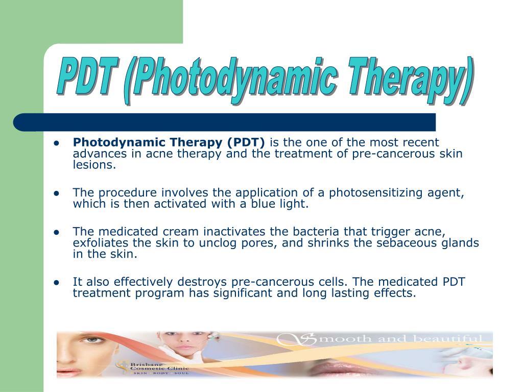 PDT (Photodynamic Therapy)