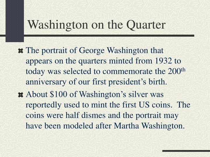 Washington on the Quarter