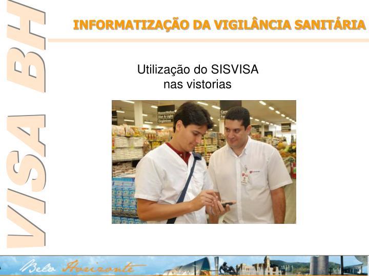 INFORMATIZAÇÃO DA VIGILÂNCIA SANITÁRIA