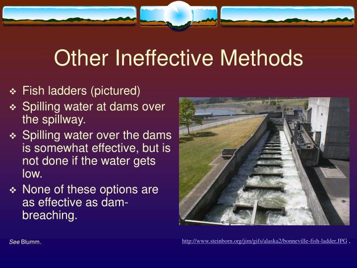 Other Ineffective Methods