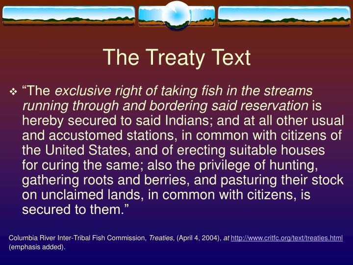 The Treaty Text
