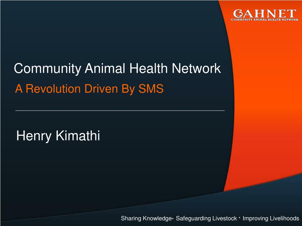 Community Animal Health Network