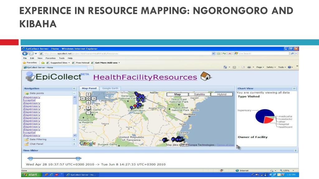 EXPERINCE IN RESOURCE MAPPING: NGORONGORO AND KIBAHA