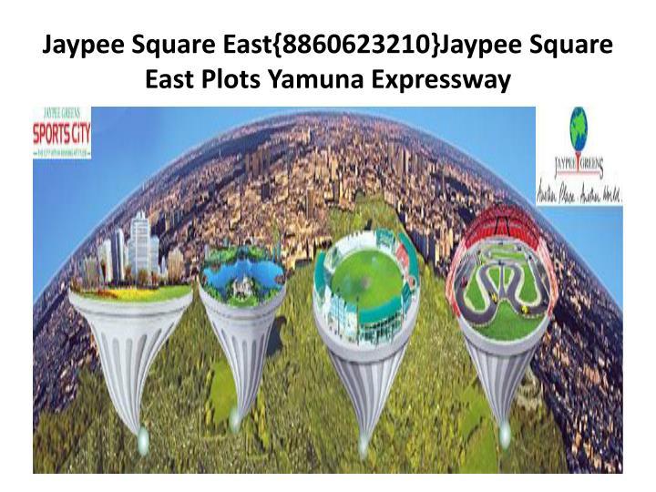 Jaypee square east 8860623210 jaypee square east plots yamuna expressway