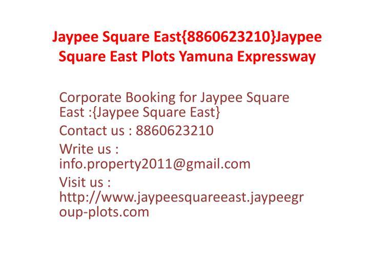 Jaypee square east 8860623210 jaypee square east plots yamuna expressway3