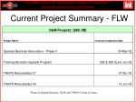 current project summary flw1