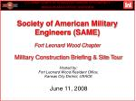 society of american military engineers same