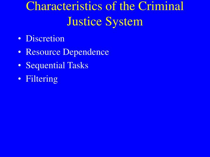 what is discretion in the criminal justice system