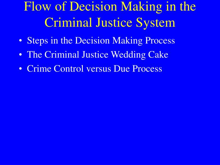the process of the criminal justice process essay Take the criminal from jail for a court date to get person information,check his/her past history, and take every belonging they have judge decides whether there is enough evidence to hold the suspect for further criminal processing  if enough evidence has not been produced, the judge will dismissed.