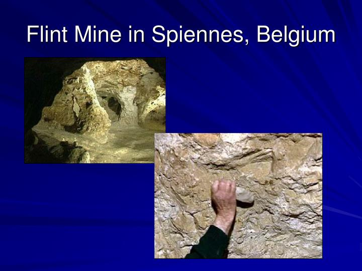 Flint Mine in Spiennes, Belgium