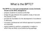 what is the bptc