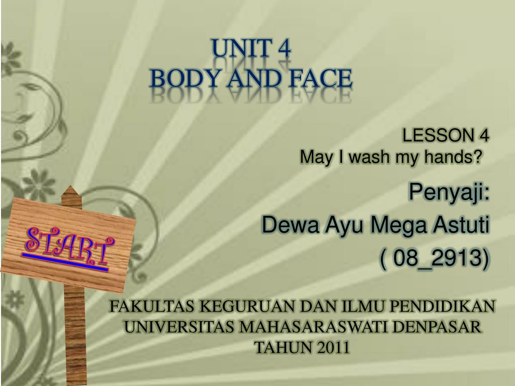 unit 4 body and face l.