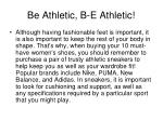be athletic b e athletic