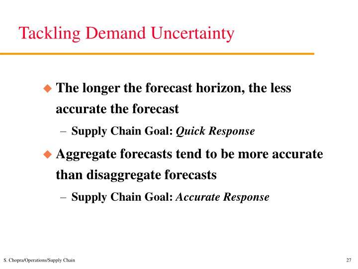 Tackling Demand Uncertainty
