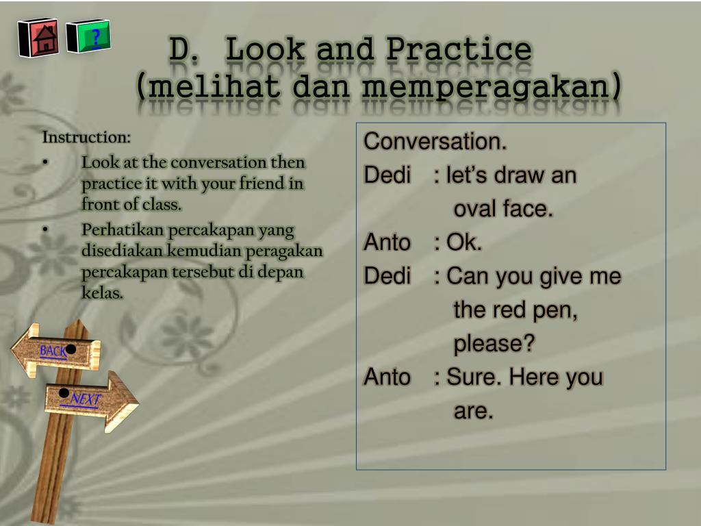 Look and Practice