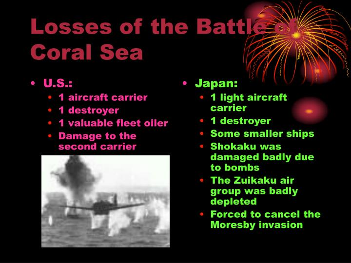 importance of the battle of coral Importance of the battle of coral sea and midway essays: over 180,000 importance of the battle of coral sea and midway essays, importance of the battle of coral sea and midway term papers, importance of the battle of coral sea and midway research paper, book reports 184 990 essays, term and research papers available for.