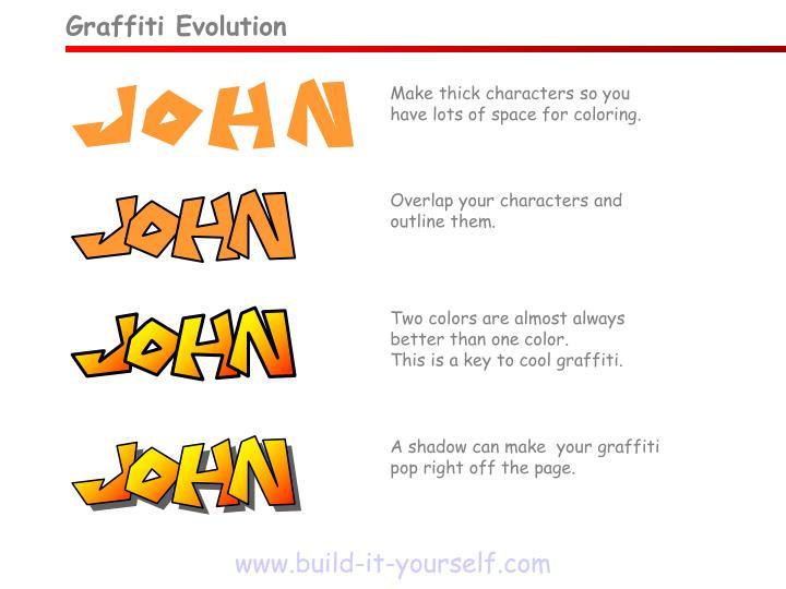 Graffiti Evolution