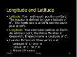 longitude and latitude18