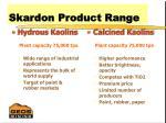 skardon product range