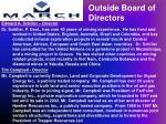 outside board of directors