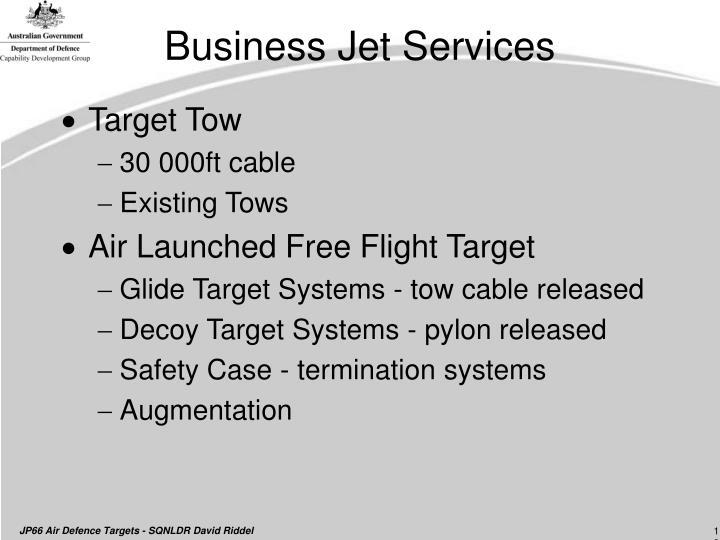 Business Jet Services