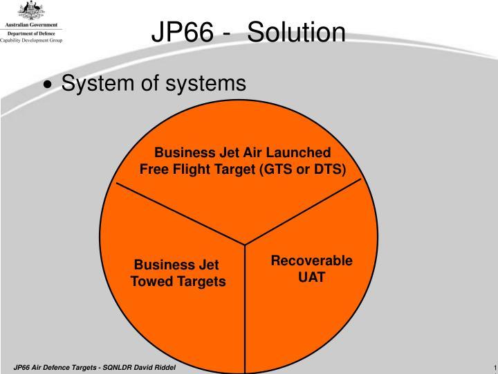 JP66 -  Solution