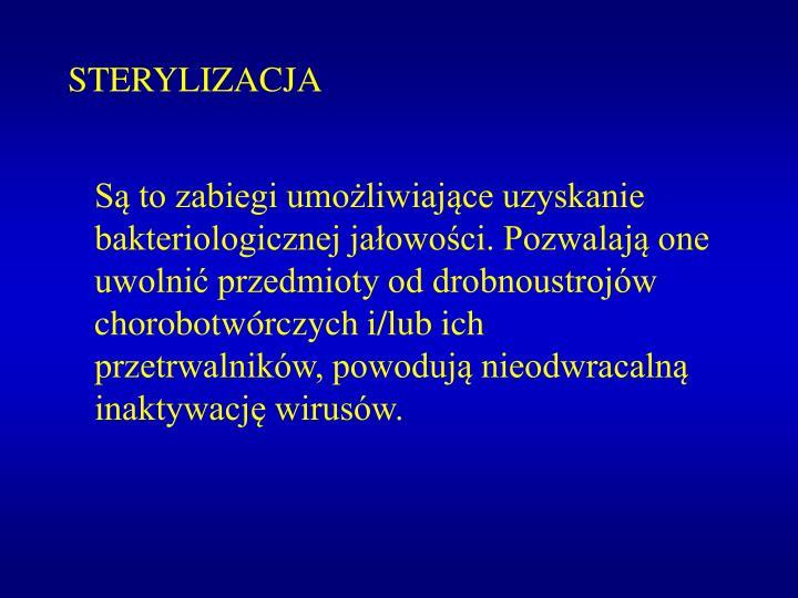 STERYLIZACJA
