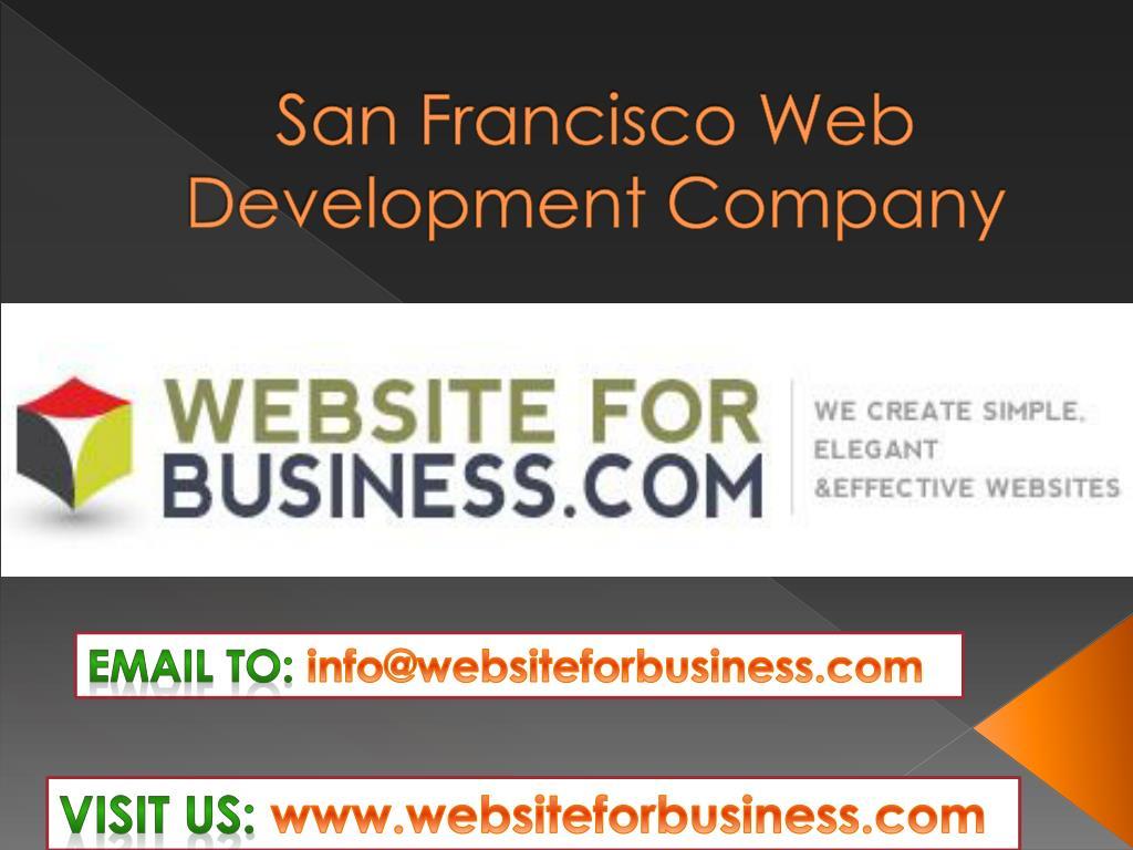 san francisco web development company l.