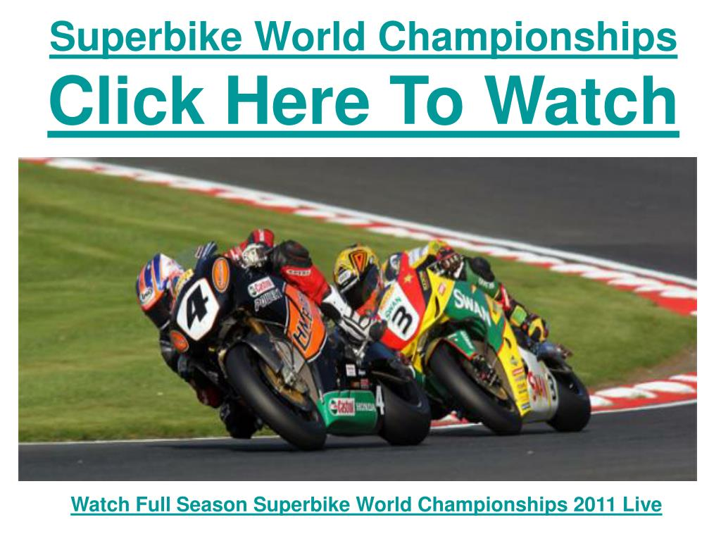 superbike world championships click here to watch l.