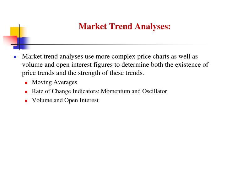Market Trend Analyses:
