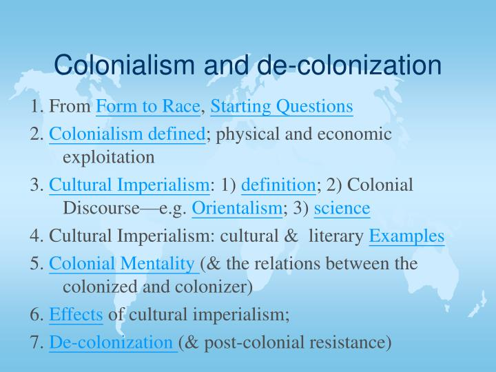 colonization dehumanizes the colonizer Preface 1965 it would be untrue to say that i foresaw the full sig nificance of this book in 1957 when i wrote it i had written a first novel, the pillar of salt, a life story.