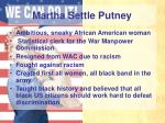 martha settle putney