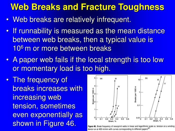 Web Breaks and Fracture Toughness