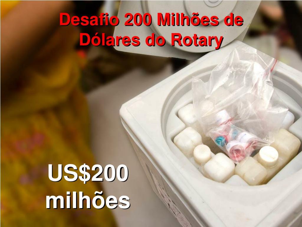 Desafio 200 Milhões de