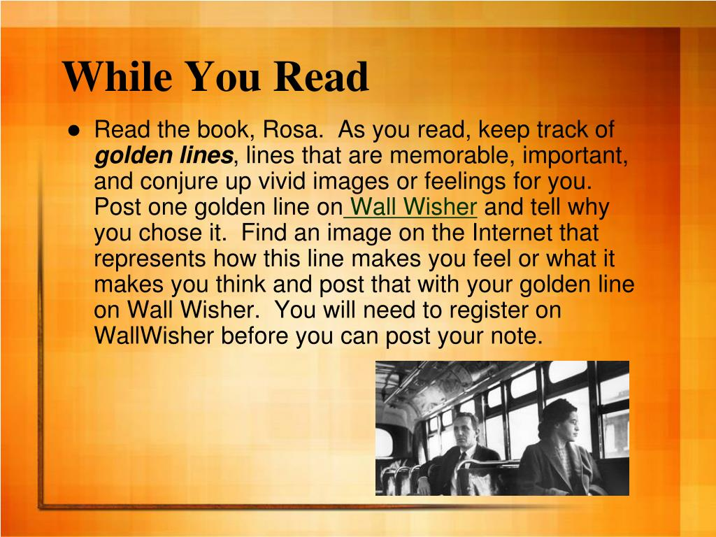 While You Read